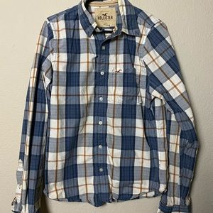 Plaid Hollister Button-Down shirt